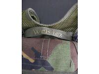 Webtex camo webbing vest