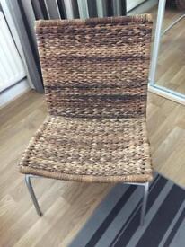 ILVA wicker lounge chair