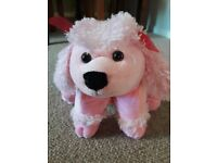 Pink Puppy Teddy and Pillow