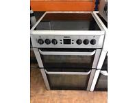 Beko ceramic cooker 60cm grey colour digital display fully working order for sale