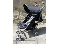 Lightweight Quatro Pushchair Stroller with Rain Cover RRP £55