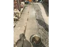 Paving slabs large 38 in total