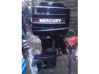 MERCURY OUTBOARD 40HP LONGSHAFT BLACKMAX 4 CYLINDER ENGINE