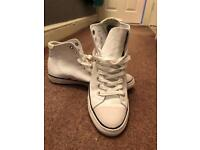 Superdry White hitops size 9