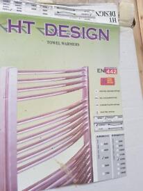 Towel radiator new 500 x1200