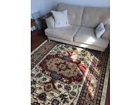 Telling Traditional Cream Rug - 200 x 290 cm