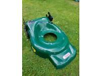 Webb Petrol mower Deck Only