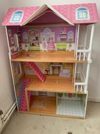 Giant dolls house