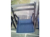 Folding chairs 4 off black