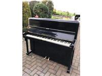 Monington & Weston black upright piano |Belfast pianos