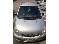Toyota Yaris 03 Low Mileage