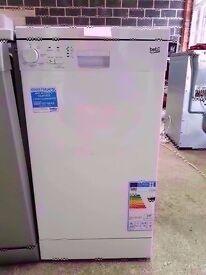 White Beko dishwasher A+class slime line