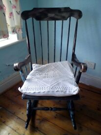 Wooden Rocking chair £50 ono
