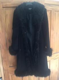 Black ladies coat