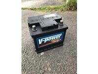 Brand new car battery