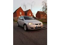 2005 Vauxhall Corsa 1.4i Design Automatic 3Dr 39k Miles Silver