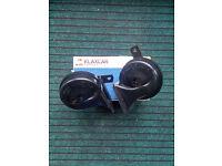 2 Klaxcar 12 Volt Car Horns