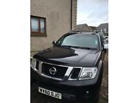 Nissan Navara (2010) For Sale NO VAT 5 DOOR, LEATHER INTERIOR, MOT'D NOV 9th, HARD TOP BACK