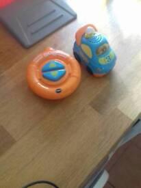V tech toddler remote control car