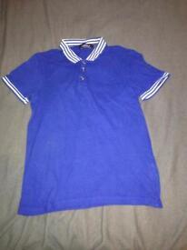 TOPMAN POLO SHIRT XS MENS CLOTHES