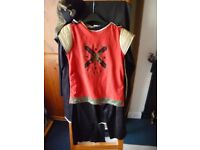 Medieval Knight Fancy Dress for Book Day age 9-10 yrs. Very good condition