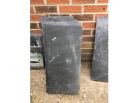 Paving slabs black stone 60x30x2 cm