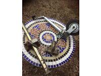 Jockey wheel, stand and towball