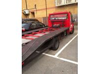 24/7 ROADSIDE BREAKDOWN CAR RECOVERY VEHICLE DELIVERY TOW TRUCK TOWING SERVICE SCRAP CAR TRANSPORTER