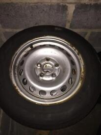 Volkswagen caddy steel wheels