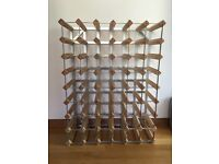 Start Your Own Cellar! Large Wine Rack & Wine Available