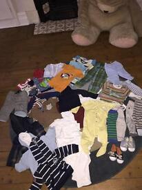 Baby boys bundle 6-9 months