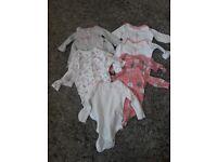 3-6 months girls bodysuits