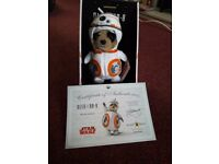 Meerkat star wars toy oleg as BB-8