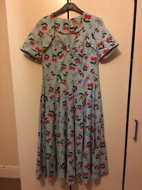 Vintage style tea dress