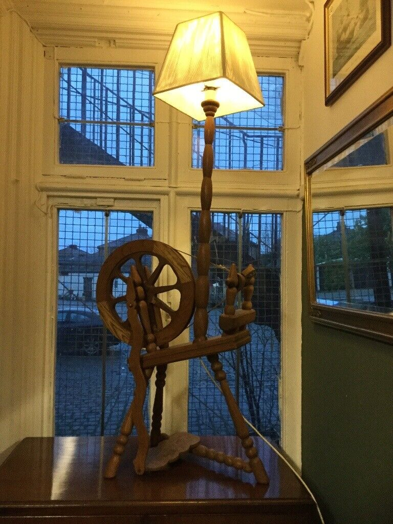 Unique Spinning Wheel Lamp In Gorton Manchester Gumtree