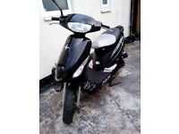 63reg 50cc pulse sport scooter in black £280