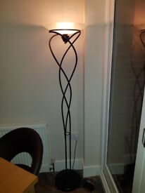 Dimmable uplighter lamp