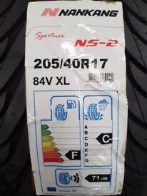 Nankang ns2 ultrasport X2 205/40R17