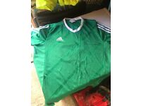2 x Mens Football Kits with accessories