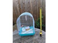 Budgie or cockatiel cage