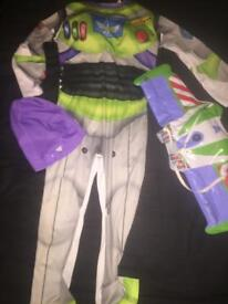 Buzz lightyear outfit age 7-8