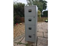 Filing cabinet grey free to collect
