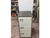Filing cabinet 3 three drawer storage connections plus