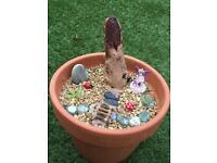 Homemade Fairy Garden