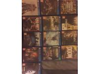 PS4 - 1TB - 13CD games + 2 on console