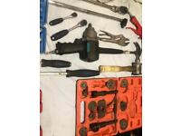 Job lot of tools including Mac tools sets & powerful 1/2 inch air gun