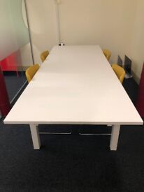 Ikea White Extendable Dining Table