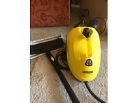 Karcher steam cleaner and attachments