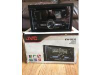JVC Double Din Car Stereo/USB/AUX