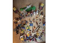 Knights play Mobil complete set
